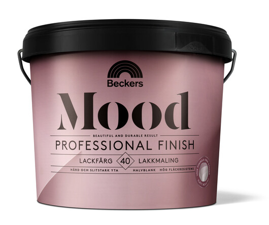 Mood Pro Finish Lackfärg 40 Halvblank